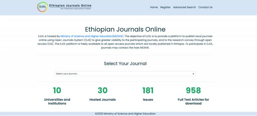 Ethiopian Journals Online